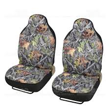 amazon com front camo seat covers high back pro camouflage for