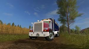freightliner dump truck freightliner fld12064sd dump truck mod for farming simulator 2017