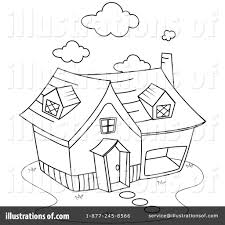 house clipart 1049896 illustration by bnp design studio