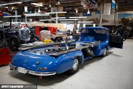 How Many Square Feet Is A 3 Car Garage by The Ultimate Hobby Shop Jay Leno U0027s Garage Speedhunters