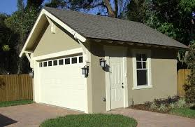 craftsman style detached garage plan 44080td architectural