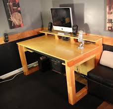 music studio desks new home recording studio desk plan cool music