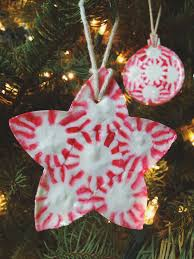 25 beautiful handmade ornaments peppermint ornament
