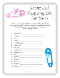 list of baby shower baby shower 2