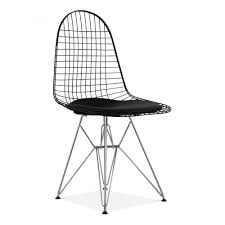 Armchairs Uk Only Eames Dkr Wire Chair Cafe U0026 Dining Chairs Cult Furniture Uk