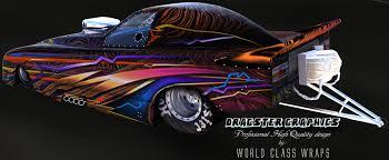 custom jr dragster funny car graphics wraps