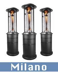 Flame Patio Heater Lhi Milano Outdoor Patio Heaters Outdoor Flame Patio Heaters Sales