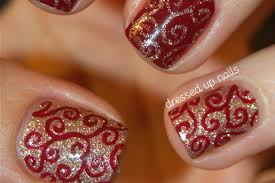 christmas gel nails designs how you can do it at home pictures