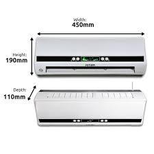 2000w premium electric over door fan heater air curtain