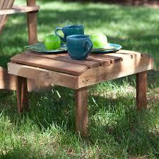 Adirondack Coffee Table - belham living richmond deluxe side table hayneedle