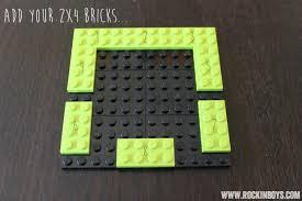 make a minecraft creeper lego ornament rockin boys club