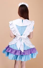 high quality gilrs skirt dress maid dress