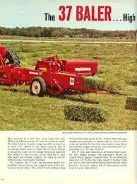 ih no 37 baler international harvester advertising pinterest