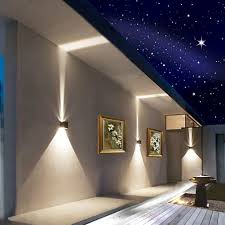 Recessed Outdoor Wall Lights Porch Patio Wall Lights