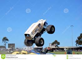 show monster truck stunt driving editorial image image 34542655
