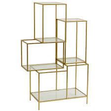 Open Shelving Unit by Milano Gold Open Shelving Unit