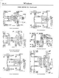1966 thunderbird power window wiring diagram 1966 mercury wiring
