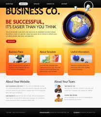 free website template business company
