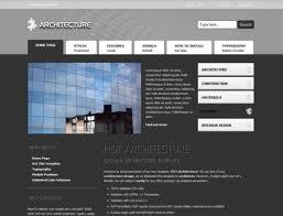 free architecture template hotthemes