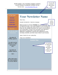 100 microsoft word newsletter template free newsletter