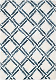 Safavieh Moroccan Rug Safavieh Moroccan Mor551a Rug In Ivory Blue Cadieux Interiors