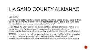 aldo leopold a sand county almanac book summary