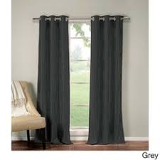 Blackout Curtain Panels With Grommets Eclipse Wyndham Grommet Blackout Window Curtain Panel