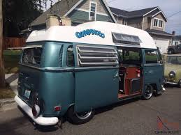 volkswagen bus 1970 bus bay window slammed camper driver type 2