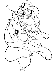 disney jasmine coloring pages coloringstar
