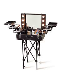 makeup luggage with lights makeup case with lighted mirror awesome hair make up