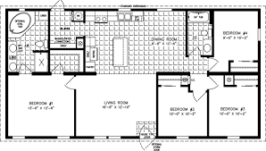 4 bedroom floor plans four bedroom mobile homes l 4 bedroom floor plans