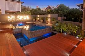 lighting around pool deck pool decking options advantages and tips
