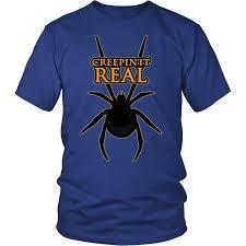 scary halloween spider shirt kids men women costume tshirt