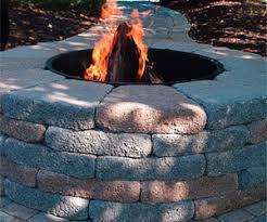 Brick Fire Pit Kit by Columbia Sc Fire Pit Builder Custom Decks Porches Patios