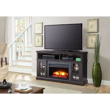 media console for inch tv stand ikea with electric fireplace huge