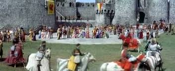 Knights Of The Round Table 1953 Mgm Studios Back Lot