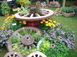 herb garden ideas wagon wheel herb garden ideas to try the whoot