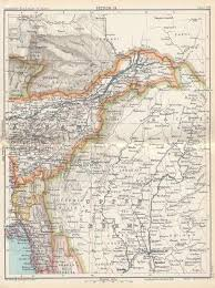 Map Of India Cities Historical Maps Of India