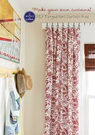 how to hang curtain rods garden suite curtain reveal and tutorial diy curtains hang