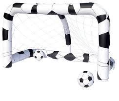 amazon com bestway inflatable soccer net toys u0026 games