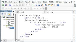 how to auto fill color with vba for loop in microsoft excel