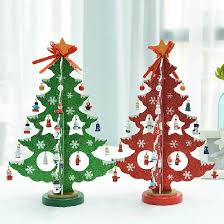 Christmas Present Table Decoration by Aliexpress Com Buy Free Shipping Xmas Gift Table Decoration Wood
