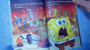 spongebob squarepants attack of the zombies children u0027s read