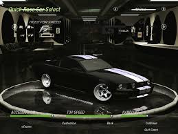 ford mustang gt white stripes ford mustang gt need for speed 2 rides nfscars