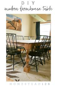 Modern Dining Room Table Png Transform A Contemporary Dining Table To A Farmhouse Table