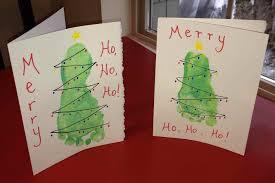 christmas card art for kids ne wall