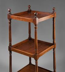 Antique Etagere Vintage Regency Style Mahogany Etagere From Piatik On Ruby Lane