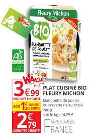 plat cuisiné fleury michon auchan ronq promotion plat cuisiné bio fleury michon fleury