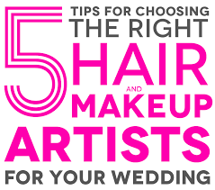 makeup artists needed apw basics how to find makeup and hair stylists for your wedding
