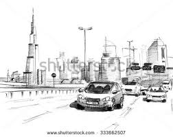 cityscape sketch stock images royalty free images u0026 vectors
